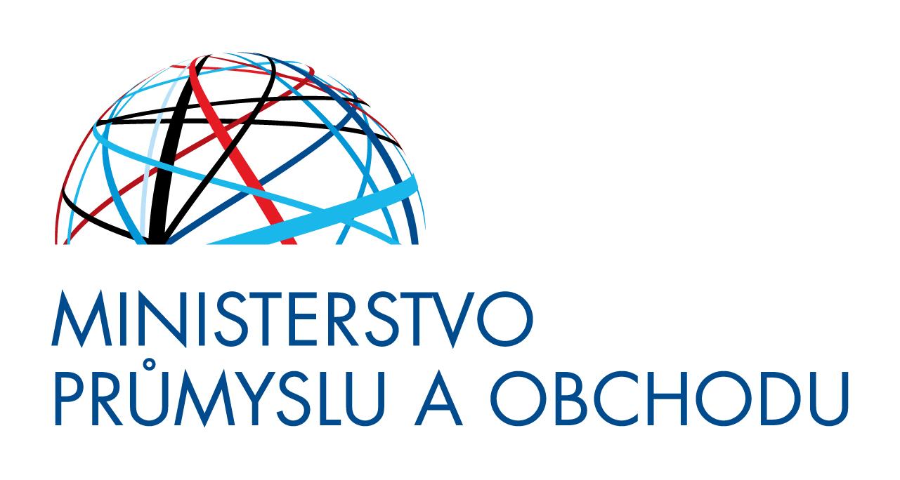 Výsledek obrázku pro ministerstvo průmyslu a obchodu logo